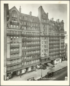 "Hotel Chelsea, where most of ""Chelsea Girls"" was filmed, used to be a central hub for famous artists and musicians. Photo courtesy of the New York Public Library"